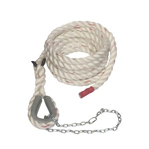 "1.5"" POLY DACRON CLIMBING ROPE W/ THIMBLE EYE"